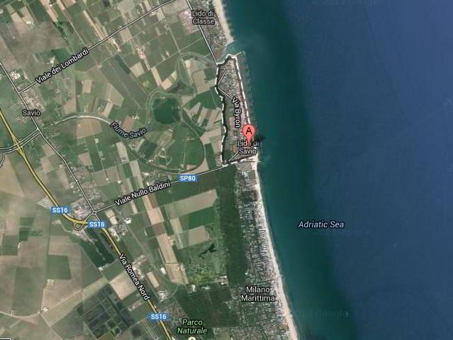 mappa_lido_di_savio